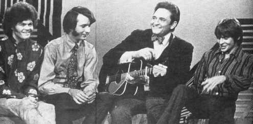 Monkees on Johnny Cash Show