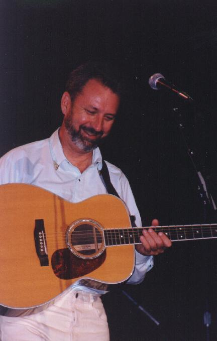 Michael Nesmith with Guitar 2 by Tina Crowley