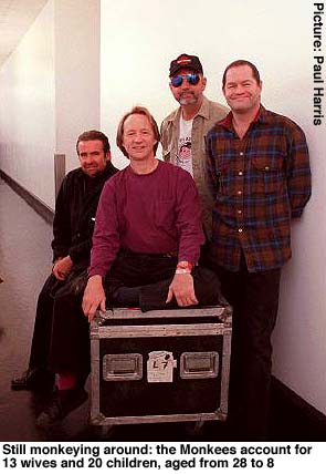 Monkees UK Press Tour Photo