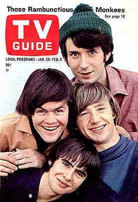 Monkees TV Guide Magazine Cover