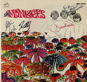 Monkees Pisces Mexican Album Cover from the collection of Kevin Stafford