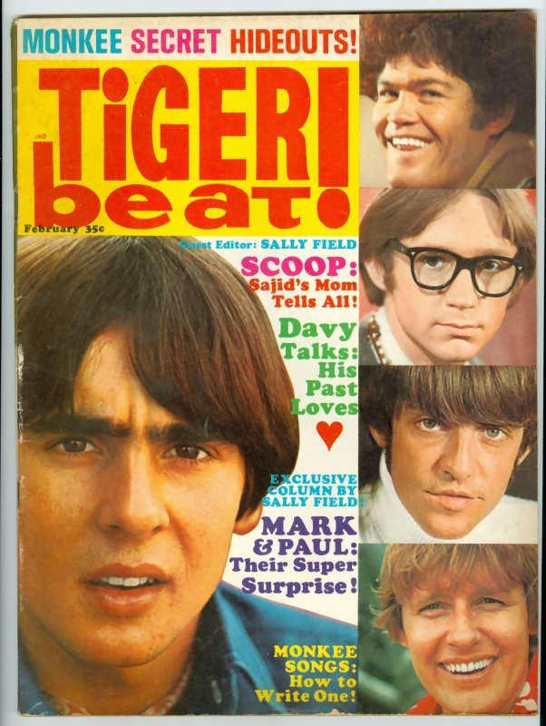 Davy Jones saves Tiger Beat