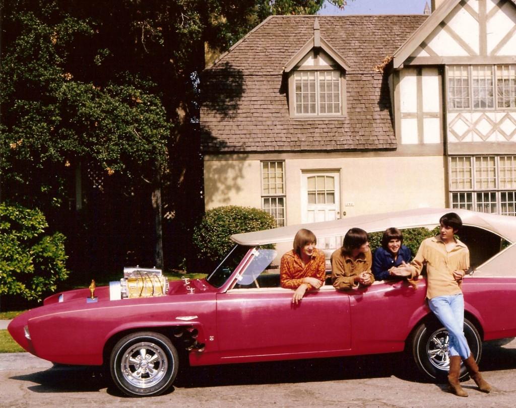 monkees 60's monkeemobile