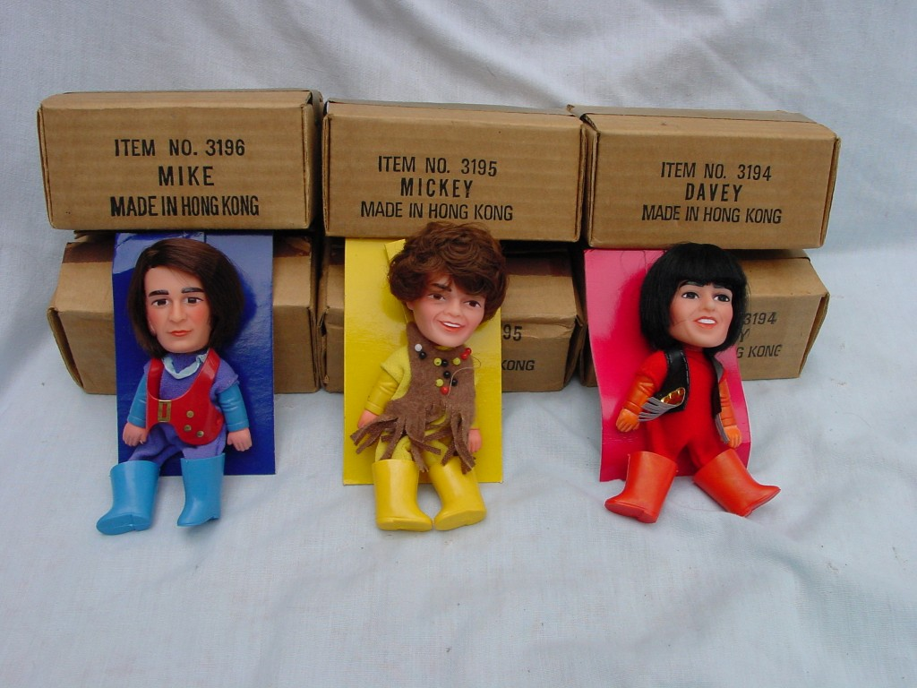 monkees finger dolls