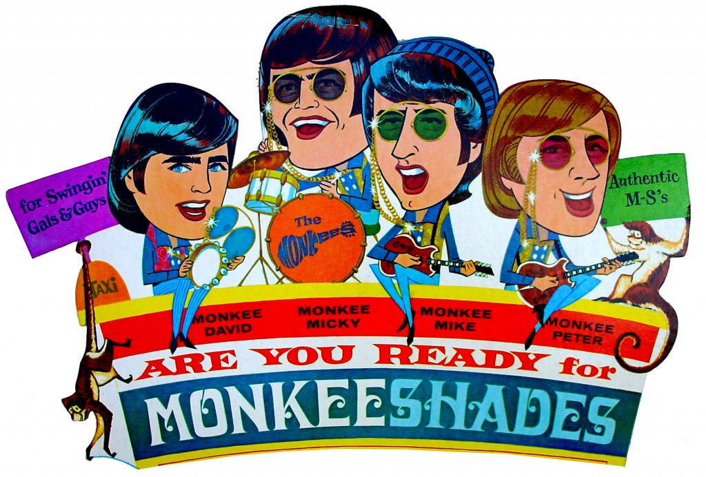monkees shades art