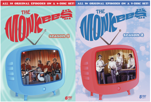 Hey Hey They're Monkees! Two New Complete Season DVDs To Be Released on September 27