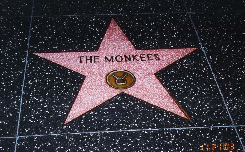monkee-star on hollywood walk of fame