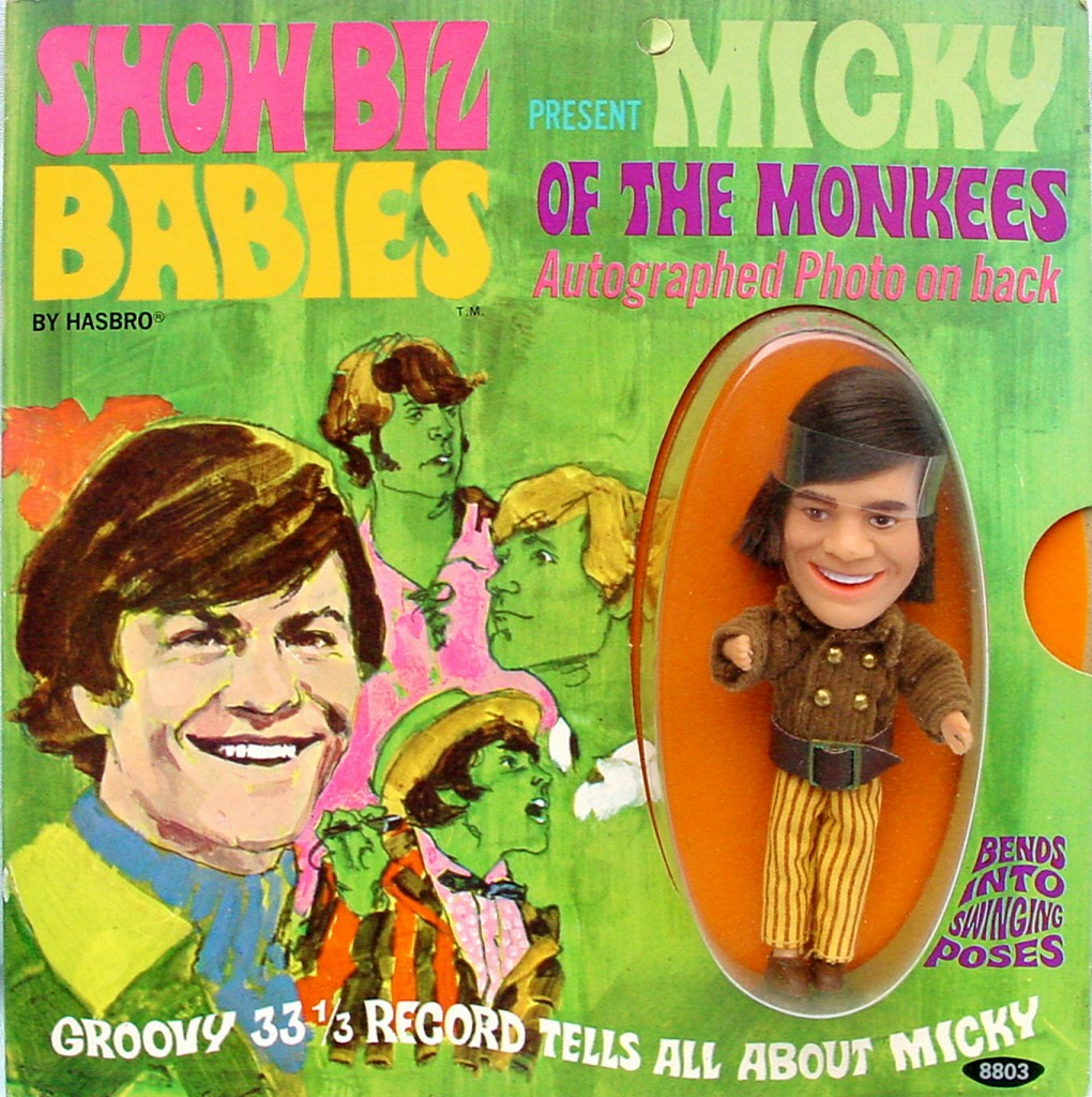 MickyShowBizDollOnCard