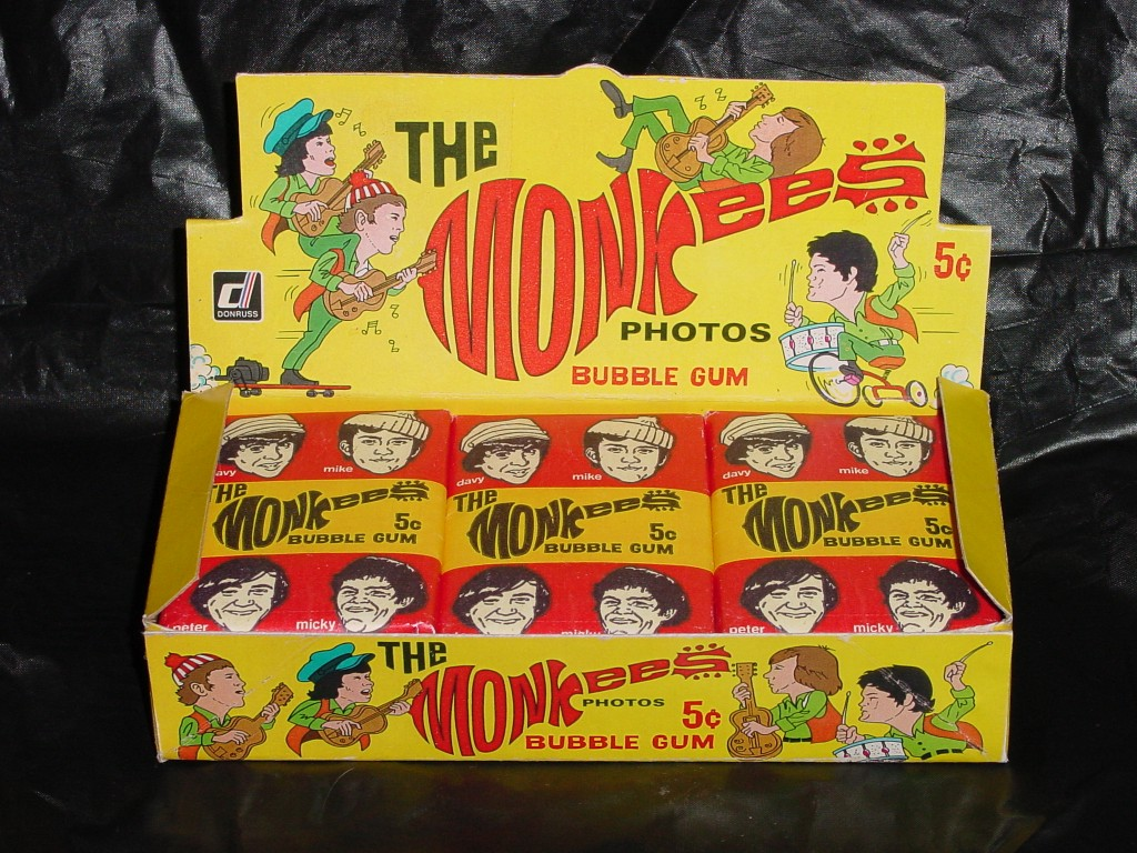 monkees cards 1