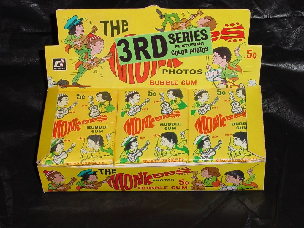 monkees cards 3