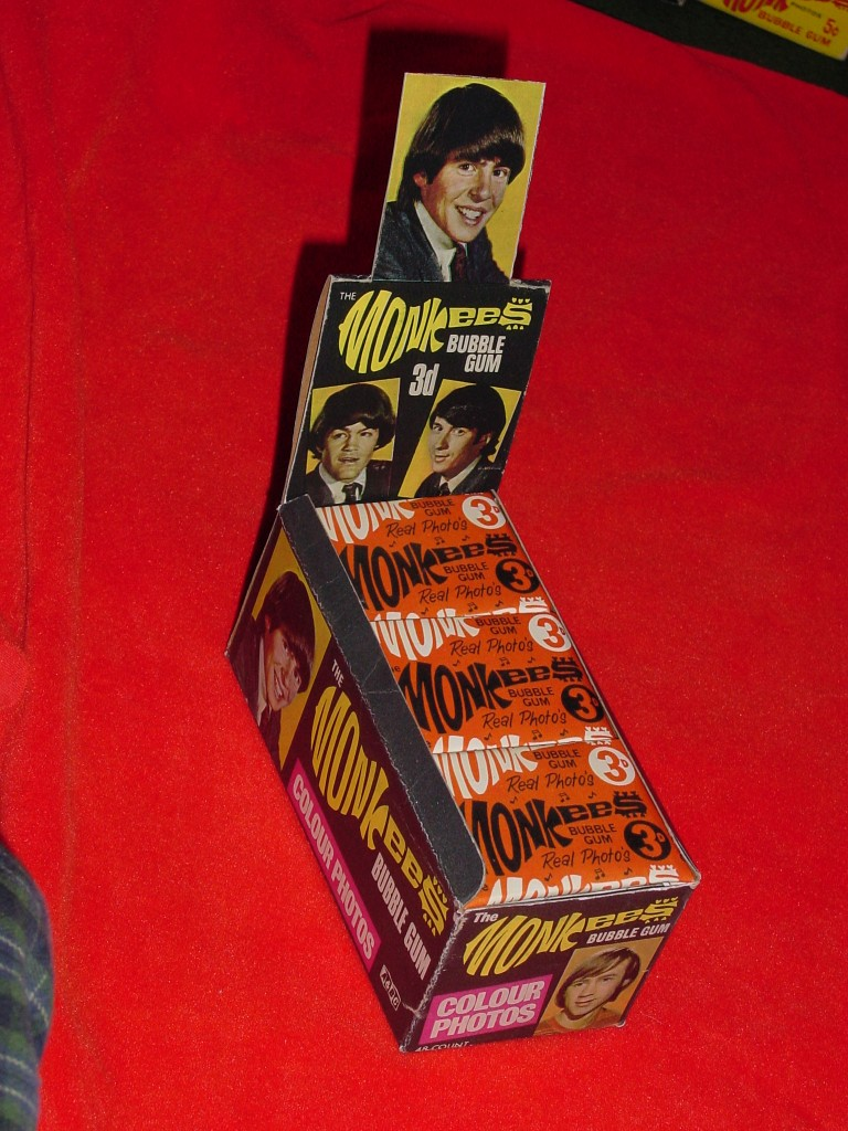 monkees cards davy