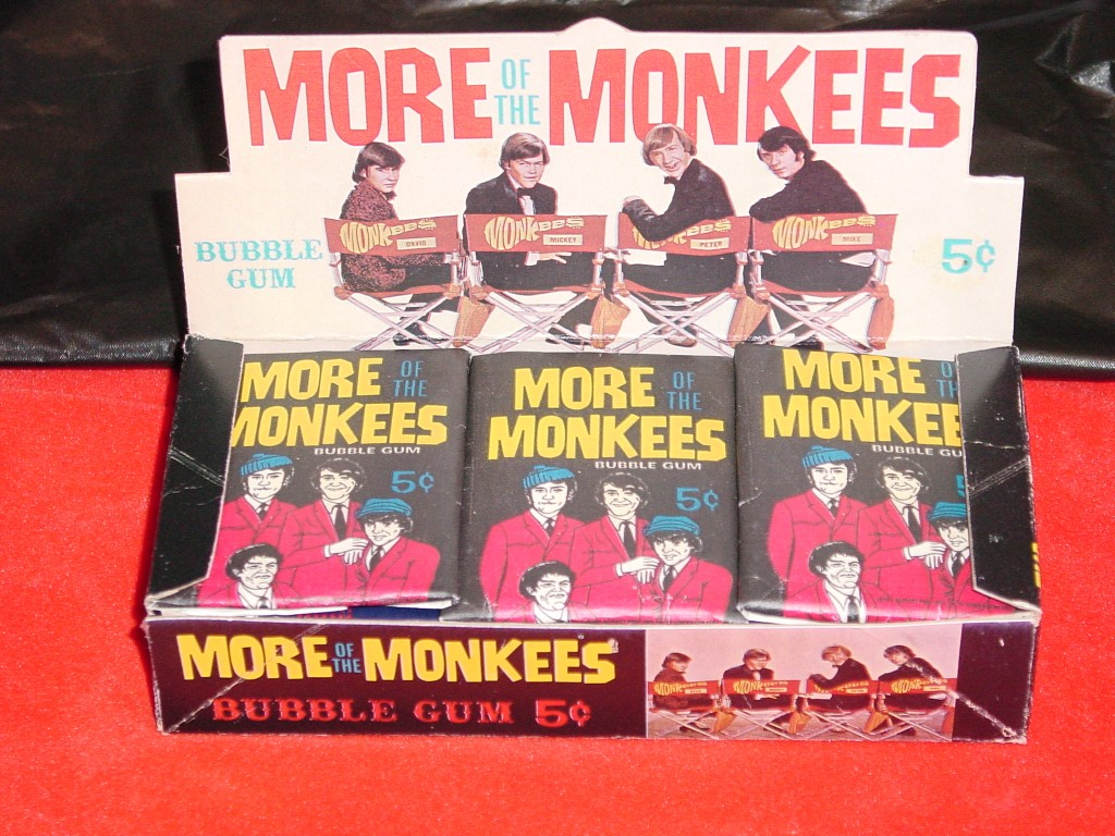 monkees cards more
