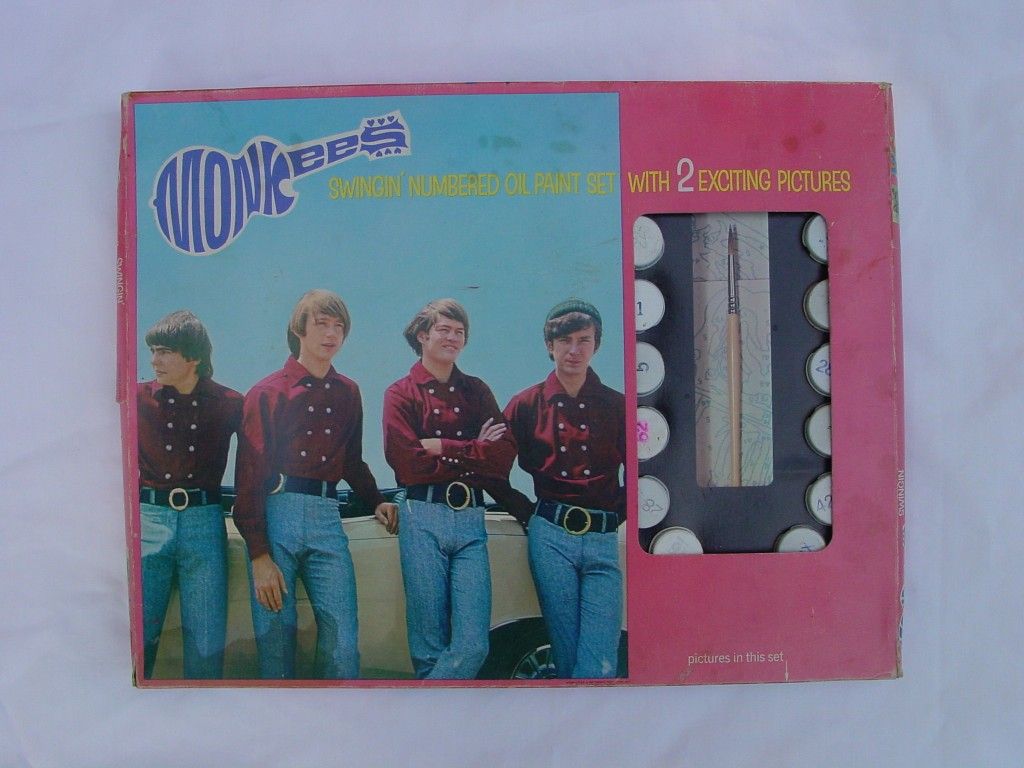 monkees paint set