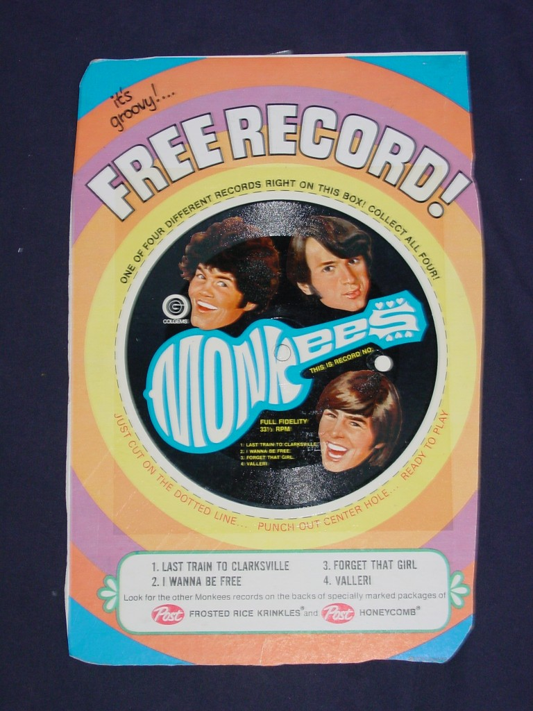 monkees post record