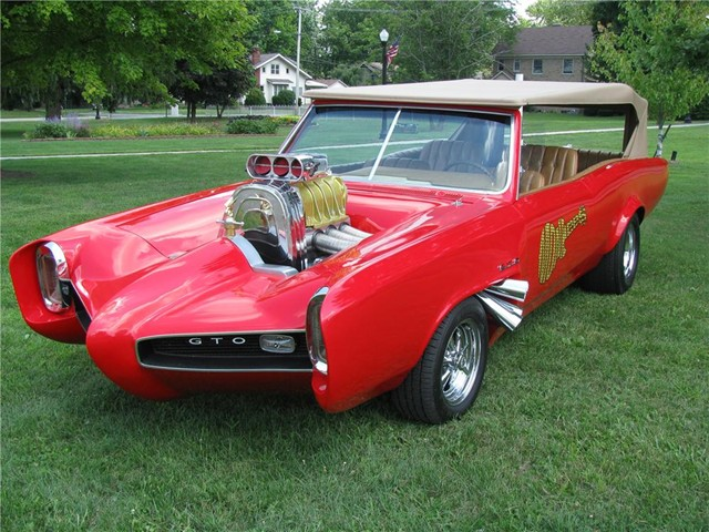 It's the Monkees' 1966 Pontiac GTO