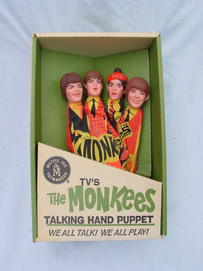monkees hand puppet