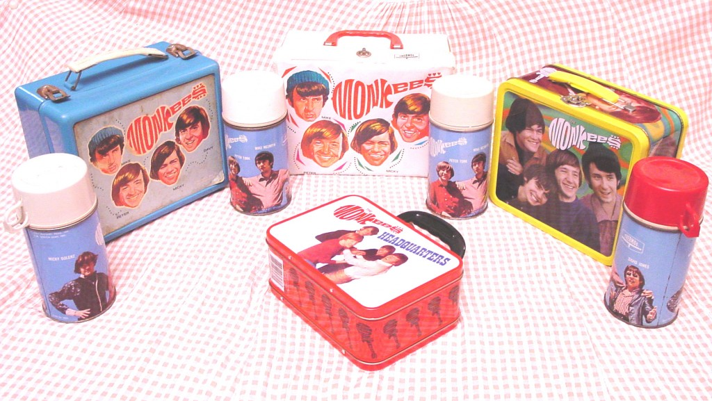 monkees lunchboxes