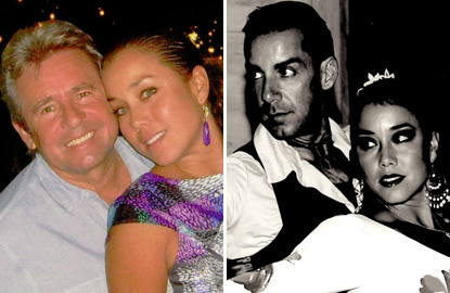 The two men in Jessica Pacheco's life — Davy Jones and Jose Junco — are both her dance partners