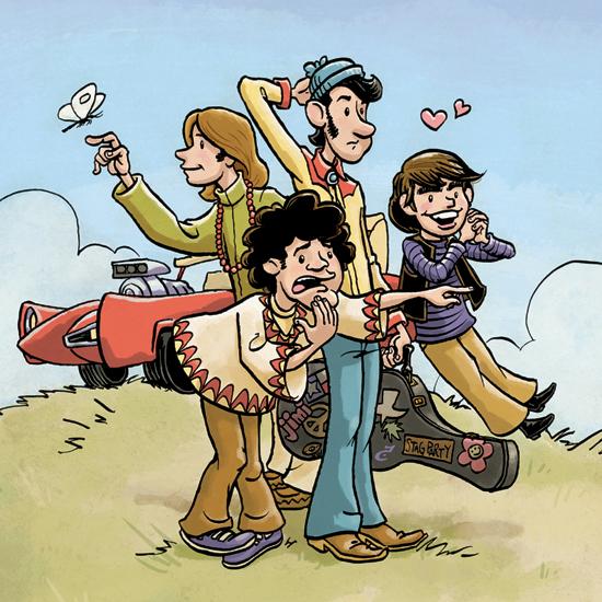 Monkees illustration