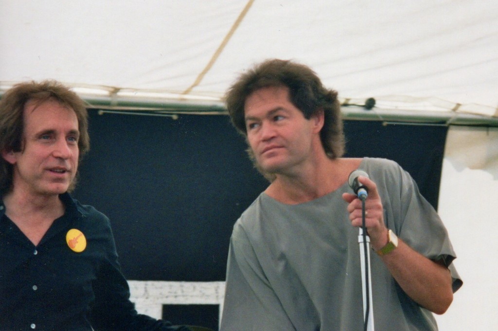Micky Dolenz and Bobby Hart 1986 Monkees Reunion