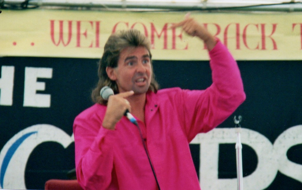 Davy Jones 1986 Monkees Reunion Convention Los Angeles