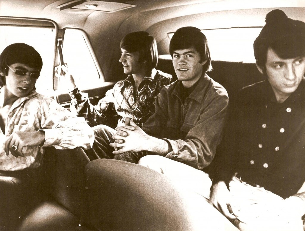 monkees 60's in car