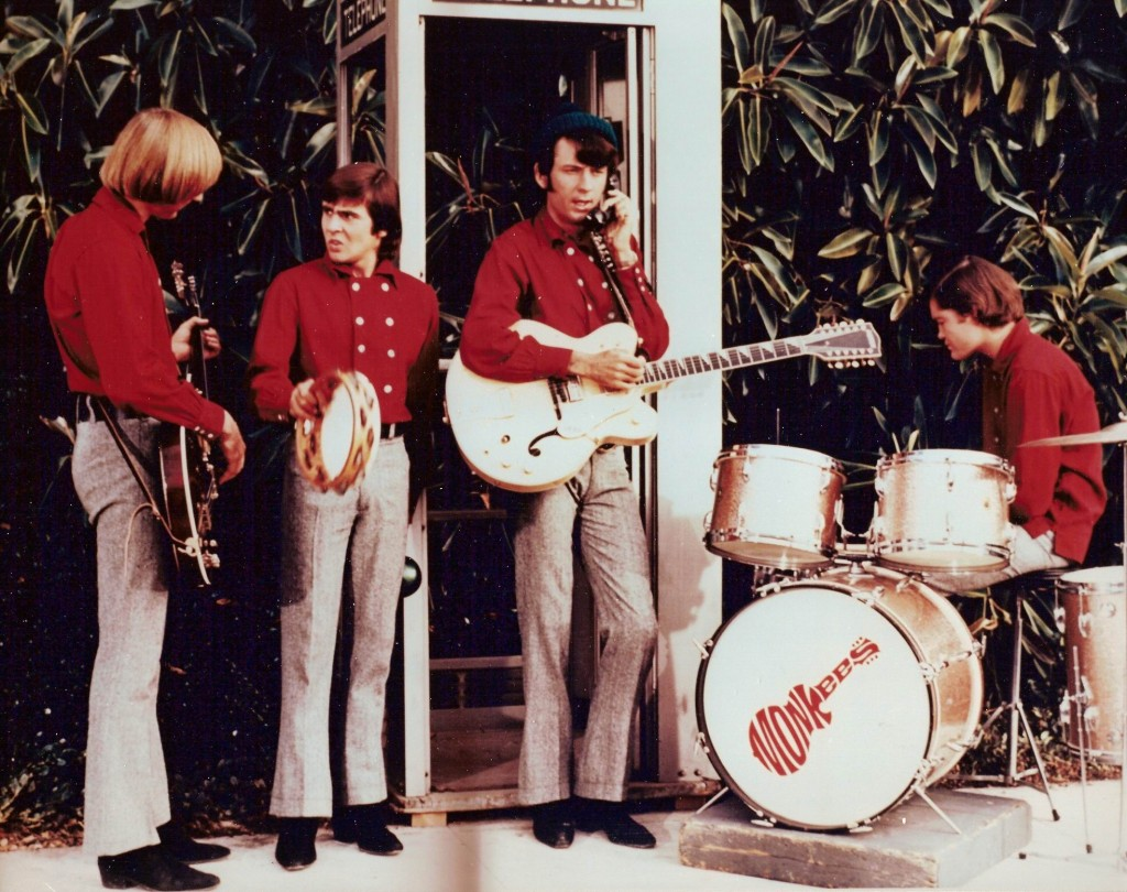 monkees 60's phonebooth