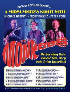 Monkees Concert Tickets Pre-sale Codes and Information