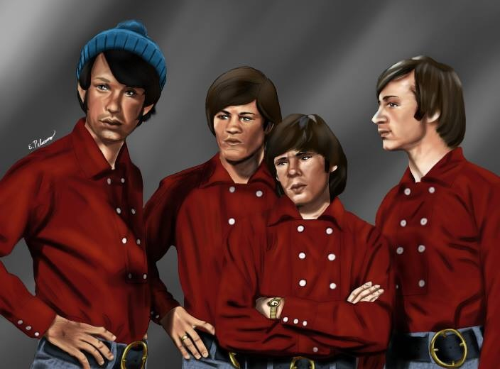 Monkees Art Piece