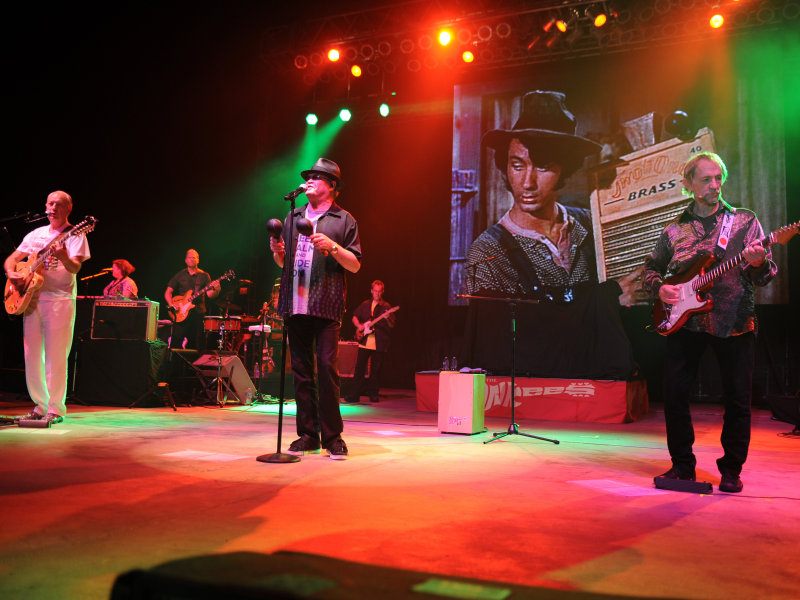 The Monkees Perform At Mizner Park Amphitheatre