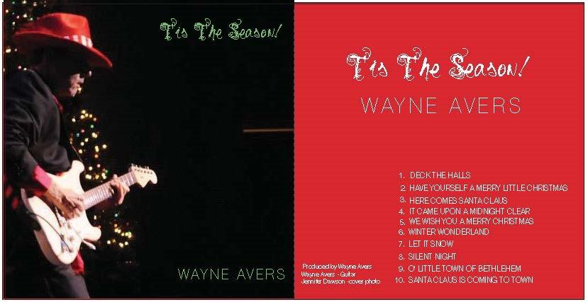 Monkees Guitarist Wayne Avers new Christmas CD!