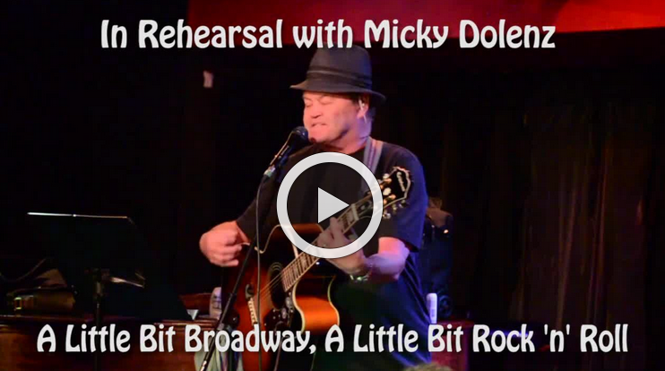 Micky Dolenz Exclusive 54 Below Rehearsal Preview