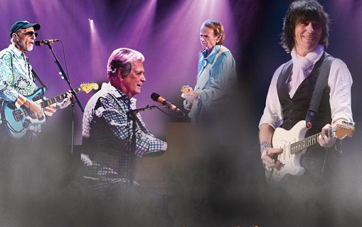 Brian Wilson and Jeff Beck at Westbury