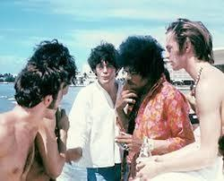 The Monkees and Jimi Hendrix Photo