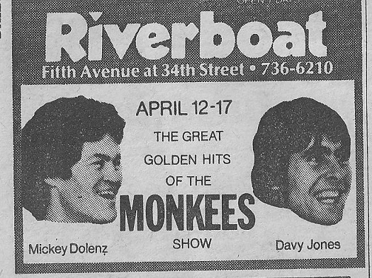 Rare Solo Monkees Concert Footage!