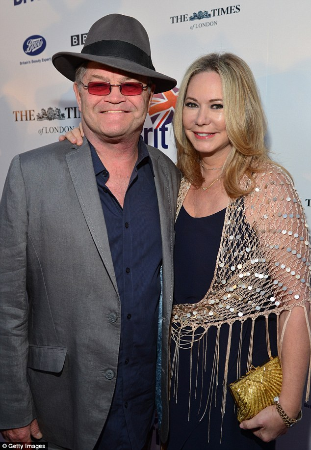 He Must Have A Thing For The Brits: Micky Dolenz (L) And His