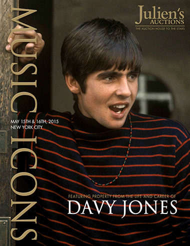 Davy Jones Estate Auction In NYC