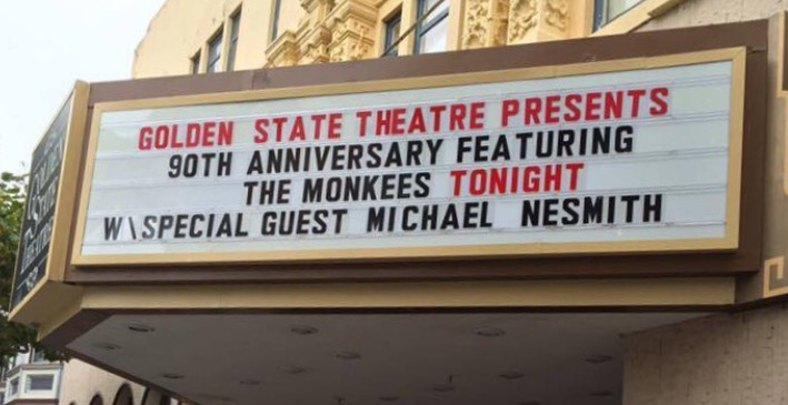 Monkees With Nez In Monterey Aug. 5th!