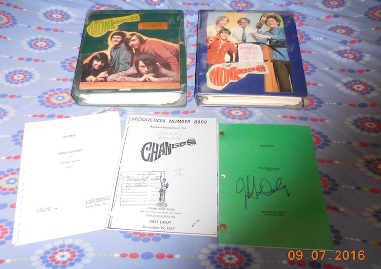 monkees scripts