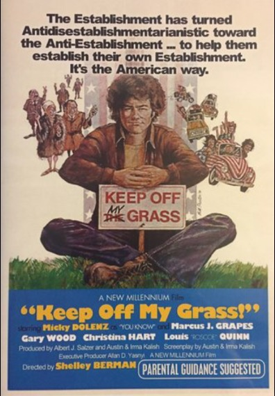 DVD Review: Keep Off My Grass