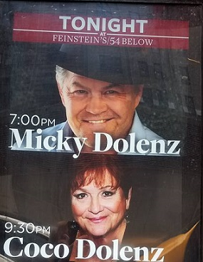 Review: Micky & Coco Dolenz At 54 Below