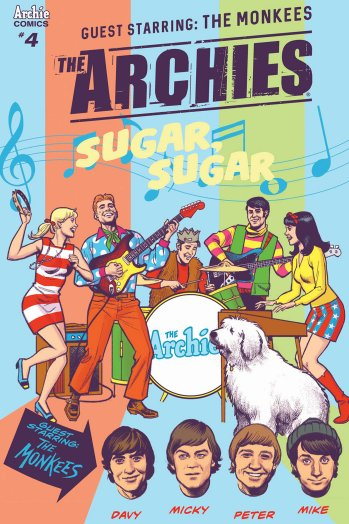 The Archies Meet The Monkees Comic Crossover!