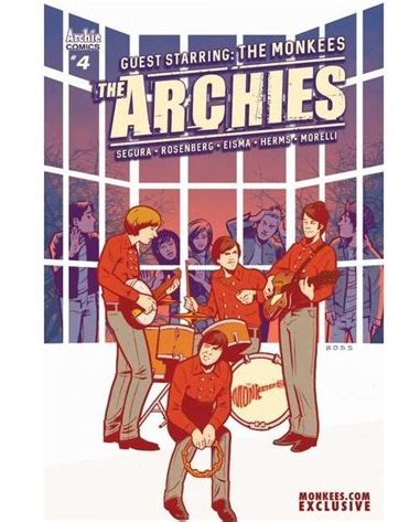 Review: The Archies Meet The Monkees Comic Book Crossover